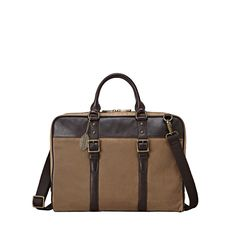 FOSSIL Estate Document Bag -- maybe my next laptop bag. Slim and really nice looking.