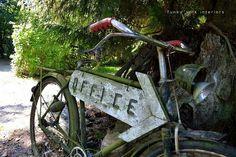 Old bike = groovy sign