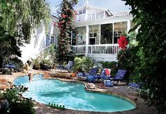 Swimming Pool & Breakfast Deck - Blackheath Lodge, Cape Town