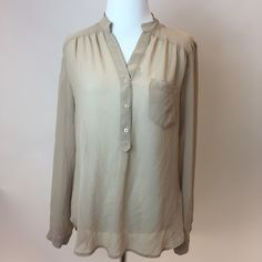 Sheer blouse Please note this has a small stain in the front, that can be washed off. Forever 21 Tops Blouses