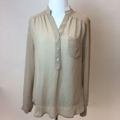 Spotted while shopping on Poshmark: Sheer blouse! #poshmark #fashion #shopping #style #Forever 21 #Tops
