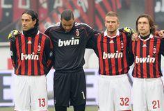AC Milan  Legends...then they all got old. Nesta, Dida, Beckham, Pirlo.