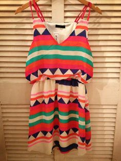Aztec print sundress. I have one like this lol