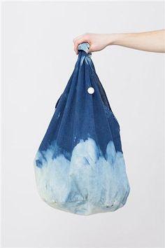 O L Drip Bag Indigo Tear