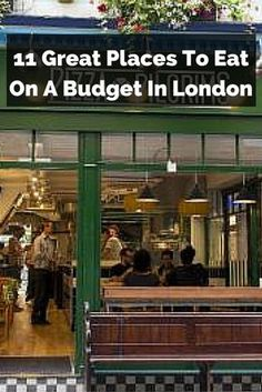 There are a few great places to eat on a budget in London, allowing you to enjoy…