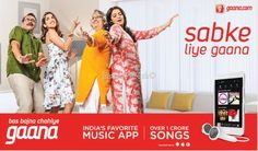 Ganna App supports 9 Indian language India Largest Music streaming App to Grow app in India . App has introduced