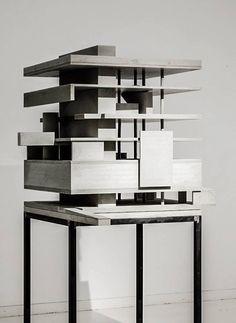 archimodels: © marte marte architects - exhibition ´concrete works´, office building - lustenau, austria - 2002