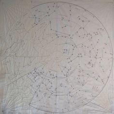 Sewing Blankets DIY Quilt - Constellation - Large - Possibly make for Luciana twin or full sized bed quilt - Nancy Zieman, Map Quilt, Quilt Blocks, Star Quilts, Diy Sewing Projects, Quilting Projects, Quilting Designs, Sewing Ideas, Tim Holtz