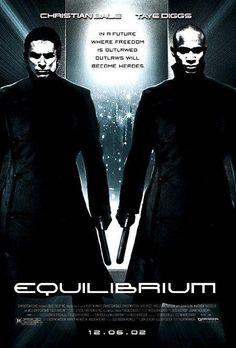 Equilibrium (2002) Christian Bale, Sean Bean, Taye Diggs, Emily Watson; Directed by Kurt Wimmer