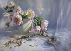 outstanding pastel | Blush and Happenstance by Mary Aslin