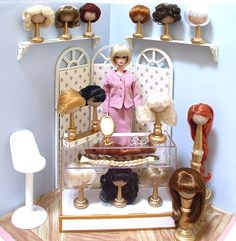 Barbie's Wig Shop Submitted by Admin - Doll Genie Dioramas