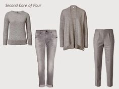 The Vivienne Files: A Four by Four Wardrobe in Brown, Grey, Green and Gold