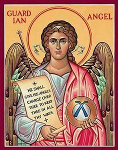 Portal de Arcangeles: Sabias que por cada cada día de la semana te cuida y un ángel custodio (Sepamos todos que Dios, no deja de velar un solo instante por cada uno de nosotros)