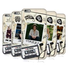 OFFICIAL ONE DIRECTION TAPE SNAPSHOT SOFT GEL CASE FOR APPLE iPHONE 6 PLUS 5.5 - $18.45 -- SAVE $18.45 (50% off)