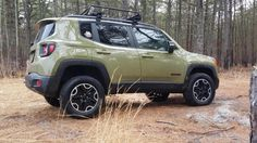 Jeep Renegade TH with Daystar lift kit installed.