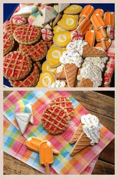 Picnic Cookies      By Monica (Cookie Cowgirl)  http://www.cookiecowgirl.com