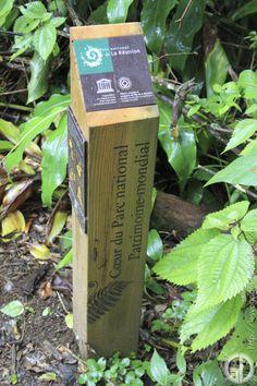 Balisage officiel du Parc National de la Réunion