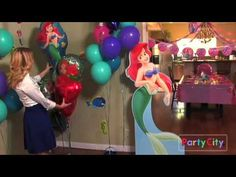 Little Mermaid Birthday Party Ideas from Party City