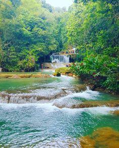 YS Falls St Elizabeth! #earthgarden #Jamaica #beautiful  @mrsmichybooduncan