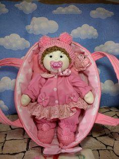Boneca de pano - Bebê Nina