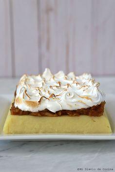 Postre de sémola y manzana – Mi Diario de Cocina Cheesecake, Food And Drink, Pie, Desserts, Puddings, Cakes, Apple Crumble Recipe, Caramel Dip, Cake Recipes