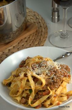 Jamie Oliver's Bolognese Ragu With Tagliatelle   The Culinary Adventures of a Greedy Guts