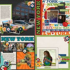GingerScraps :: Bundled Goodies :: Travelogue New York - Bundle Pack