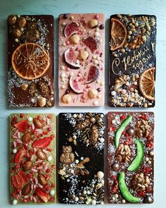 Homemade Chocolate Bars, Artisan Chocolate, Chocolate Bark, Chocolate Covered, Yummy Treats, Delicious Desserts, Chocolate Benefits, Mexican Snacks, Cake Decorating With Fondant