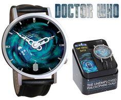 Relógio de Pulso Doctor Who TARDIS Time Vortex Watch