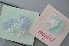 simple thoughts crea hop diy unicorn string-art winactie