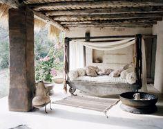 Consuelo Castiglioni's family's home in Formentera, Spain