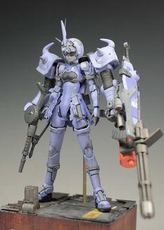GUNDAM GUY: Gouf Custom [Racaseal Yellowboze] - Custom Build