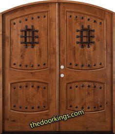 Arch tuscany door. www.thedoorkings.com