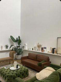 Room Interior, Home Interior Design, Living Room Decor, Bedroom Decor, Deco Studio, Aesthetic Rooms, Decoration Design, Dream Home Design, House Rooms