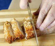 This easy practically fool proof method of cooking pork belly makes the meat juicy while making the skin very crispy.