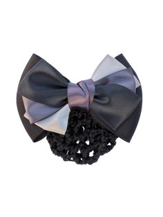 Add depth to your ensemble with this beautifully styled bow, featuring cool grey scale ribbons. Grey Scale, Riding Gear, Shades Of Grey, Equestrian, Bows, Gifts, Accessories, Vintage, Beauty