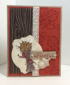 Stampin' Fun with Diana, Truly Grateful, Gently Falling, Big Shot, Framelits, Stampin' Up!, Diana Eichfeld