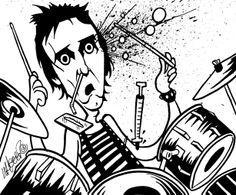 Craziest Drummers Ever - Topper Headon