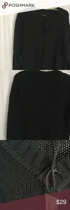 Sottotono V Neck Men's Sweater- new New with tags   Size XL   This Sottotono V Neck sweater is a sophisticated sweater that is full of life and charm. This V neck sweater will add a sophisticated touch to your wardrobe.   Color- Black   100% acrylic   - Cable knit design on the front of the sweater  - Soft acrylic material  - V Neck   Measurements- length- 29 inches                           chest- 24 inches                           sleeves- 27 inches   ** Small pull of the thread on the…