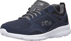 hot sale online f0e94 f9848 Fila Mens Speedway Running Shoe Fila NavyBlackCastlerock 9 M US -- Details  can be found by clicking on the image.