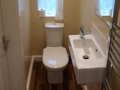 Downstairs toilet - ideally next to the utility room somewhere.
