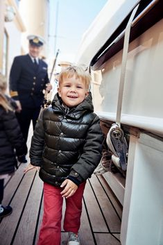New photos released by the Danish Royal Corut to celebrate the 4th birthday of Prince Vincent and Princess Josephine.The pictures were taken on the family's recent tour of Greenland.08/01/2015