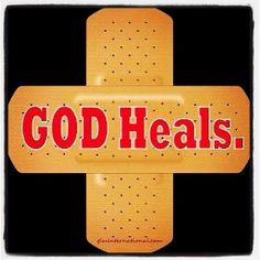 I truly believe that we are here to encourage each other, that God will heal us and bring us to complete restoration.