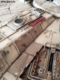 Star Wars: Millennium Falcon - High-End Modell, Fertig-Modell ... https://spaceart.de/produkte/sw099.php