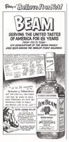 Jim Beam Since 1795, 1976 Ad Picture