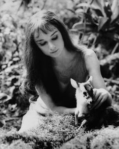 Audrey Hepburn and her dear