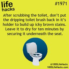 Been doing this for years - brush lasts a lot longer too! - kha.    Source: Life Hacks Posters