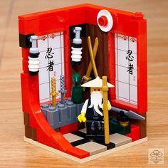 Don't Step On the LEGOs — olivertoyphotography:   Sensei Wu's apartment...