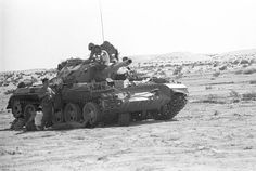 Image shows IDF Tiran-5Sh tank during Yom Kippur War.