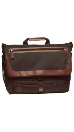 Messenger Bag made from 100% recycled materials.